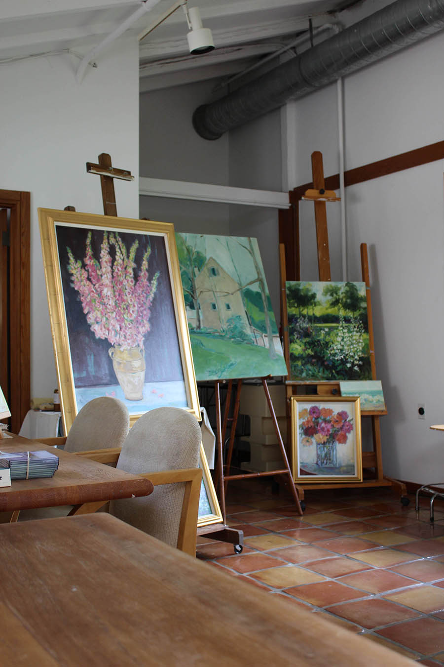 Paintings for floral still life studies